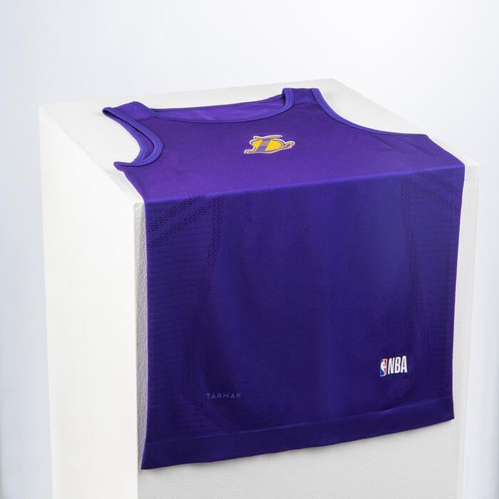 Men's Sleeveless Basketball Base Layer Jersey UT500 - NBA Los Angeles Lakers