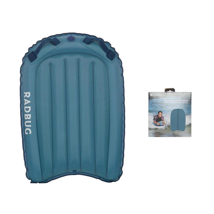 Bodyboard gonflable DISCOVERY bleu gris (gabarit >25Kg)