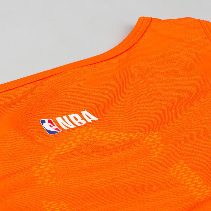 Men's Sleeveless Basketball Base Layer Jersey UT500 - NBA New York Knicks