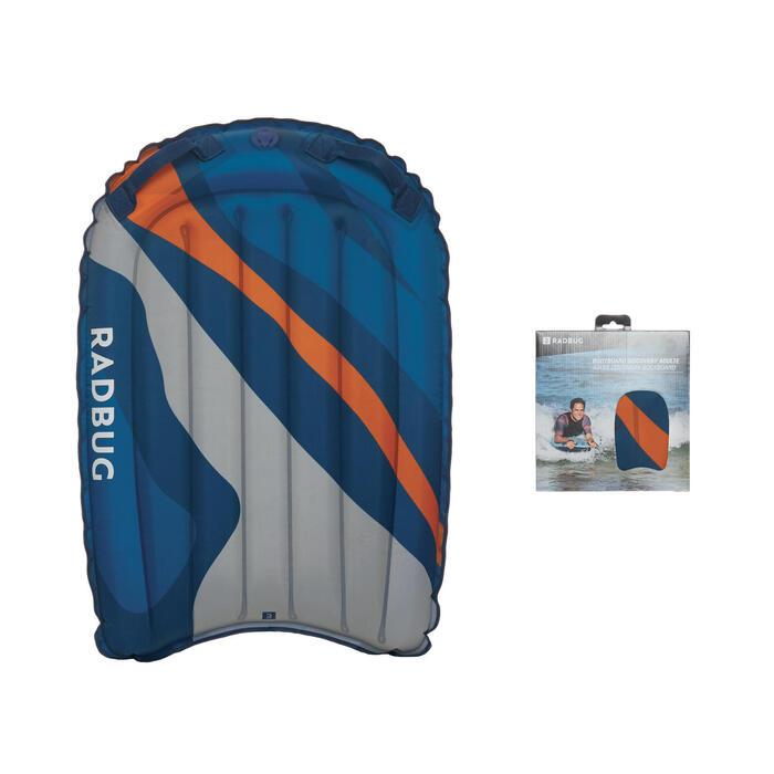 Prancha Bodyboard Insuflável DISCOVERY estampado camo Azul Cinza Laranja (>25kg)