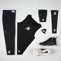 """Krepšinio alkūnės apsauga E500, juoda / NBA, Los Andželo """"Lakers"""""""