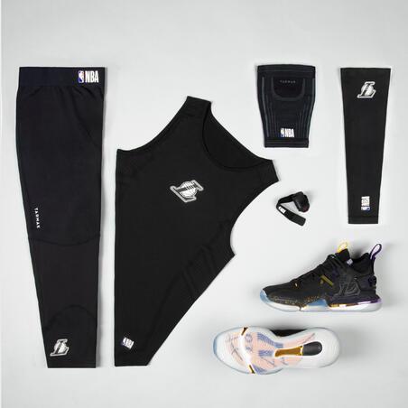 Basketball Elbow Guard E500 - Black/NBA Los Angeles Lakers