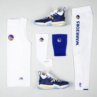 """Vyr. apatiniai berankoviai krepšinio marškinėliai UT500, """"Golden State Warriors"""""""