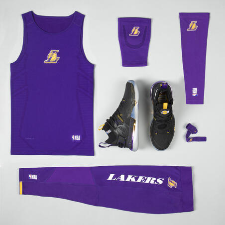 Men's Basketball Shoes SE900 - Black/NBA Los Angeles Lakers