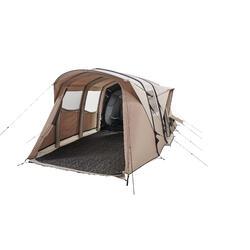 充氣式露營帳篷AirSeconds 6.3-混合棉-6人3間寢室
