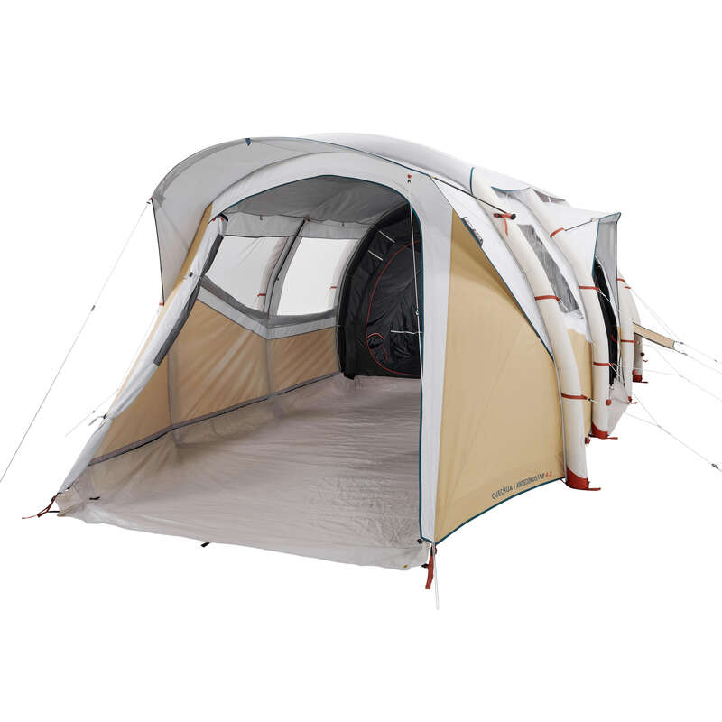 FAMILJETÄLT, BASLÄGER NATURVANDRING Camping - Tält Air Seconds 6.3 F&B QUECHUA - Campingtält