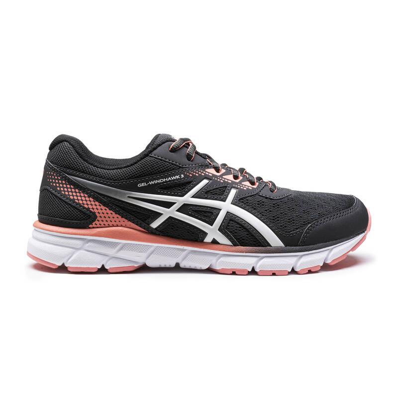 DÁMSKÉ BOTY NA JOGGING - PRAVIDELNÉ POUŽITÍ Běh - BĚŽECKÉ BOTY WINDHAWK  ASICS - Běžecká obuv