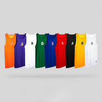 Men's Slim Fit Basketball Base Layer Jersey UT500 - NBA Houston Rockets