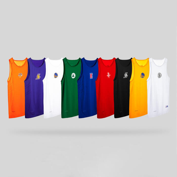 Men's Sleeveless Basketball Base Layer Jersey UT500 - NBA Brooklyn Nets