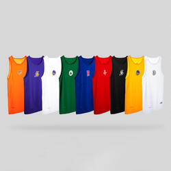 Men's Sleeveless Basketball Base Layer Jersey UT500 - NBA Los Angeles Clippers