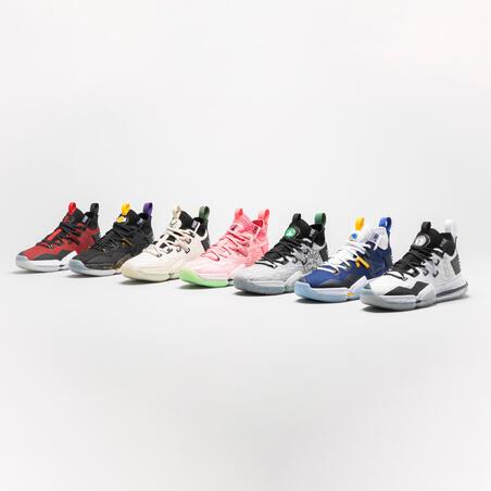 Men's Basketball Shoes SE900 - White/NBA Brooklyn Nets