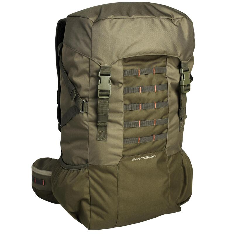 SAC A DOS CHASSE 50L - VERT
