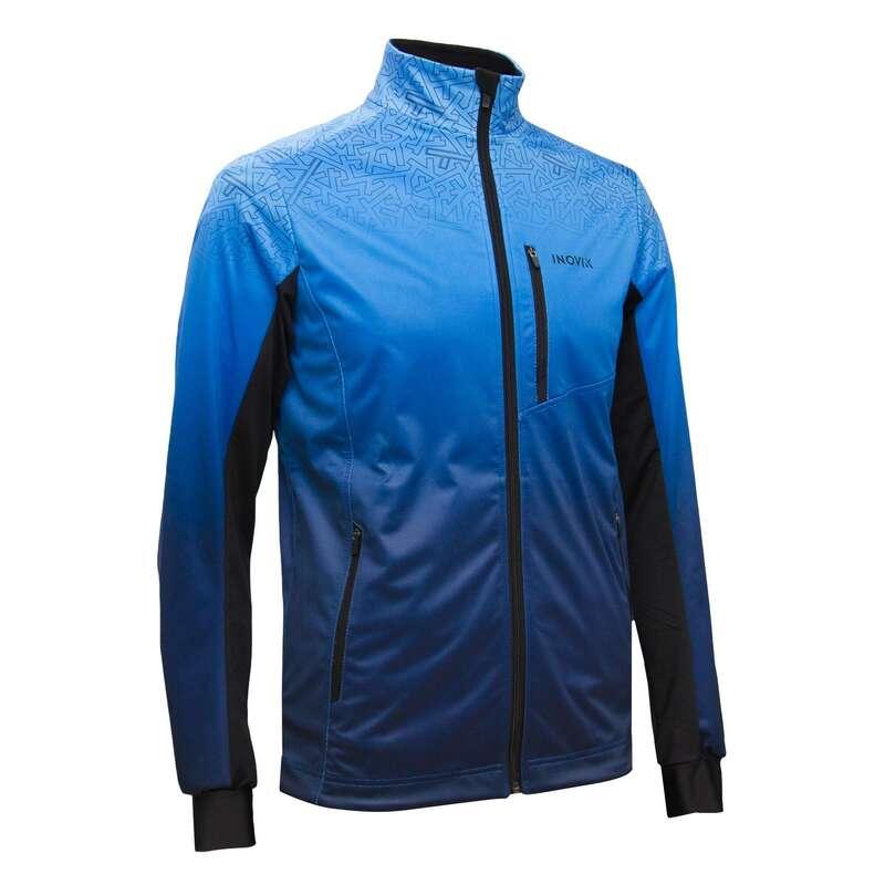ВЗРОСЛАЯ ОДЕЖДА ДЛЯ БЕГОВЫХ ЛЫЖ Одежда - Куртка XC S JACKET 500 BLUE INOVIK - Куртки