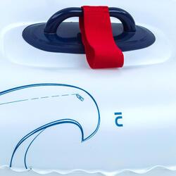 Bidon gonflable de natation artistique synchronisée - by Virginie Dedieu