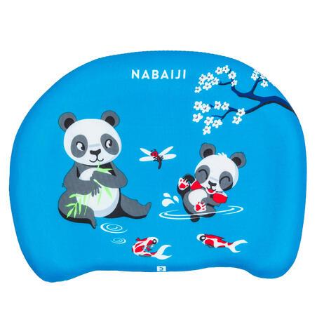"Child's swimming board blue ""PANDAS"" print"