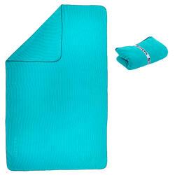 Toalha microfibra com riscas tamanho XL 110 x 175 cm azul