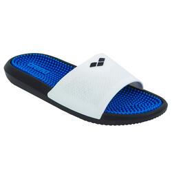 Ciabatte piscina adulto MARCO blu-bianco
