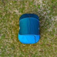 TENTE DE CAMPING - 2 SECONDS - BLEUE - 2 PERSONNES