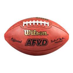 Officiële wedstrijdbal AFVD voor American football WTF1000 leer 14 jaar en ouder