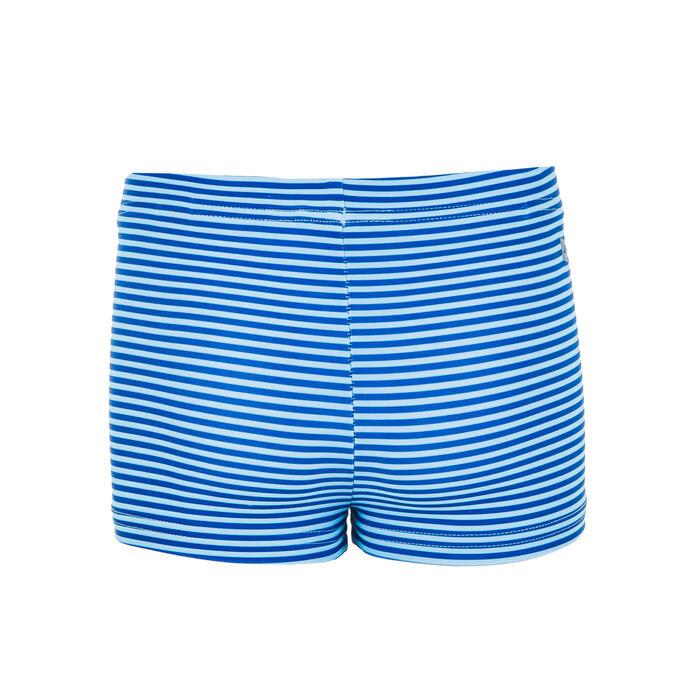 Boxer-Badehose Babys/Kleinkinder bedruckt Streifen blau