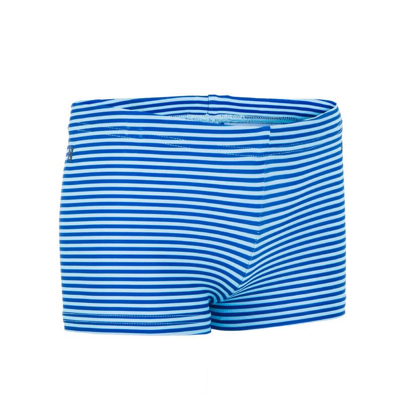 PLAVKY PRO NEJMENŠÍ Plavání - PLAVKOVÉ BOXERKY MODRÉ NABAIJI - Plavky do bazénu