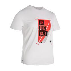 男款網球T恤TTS100 OTB - 紅色