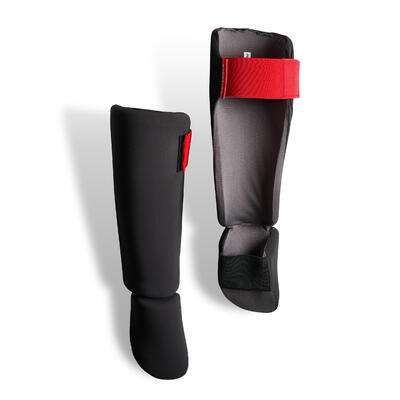 Kids' Kick Boxing and Muay Thai Foot And Shin Guard 100