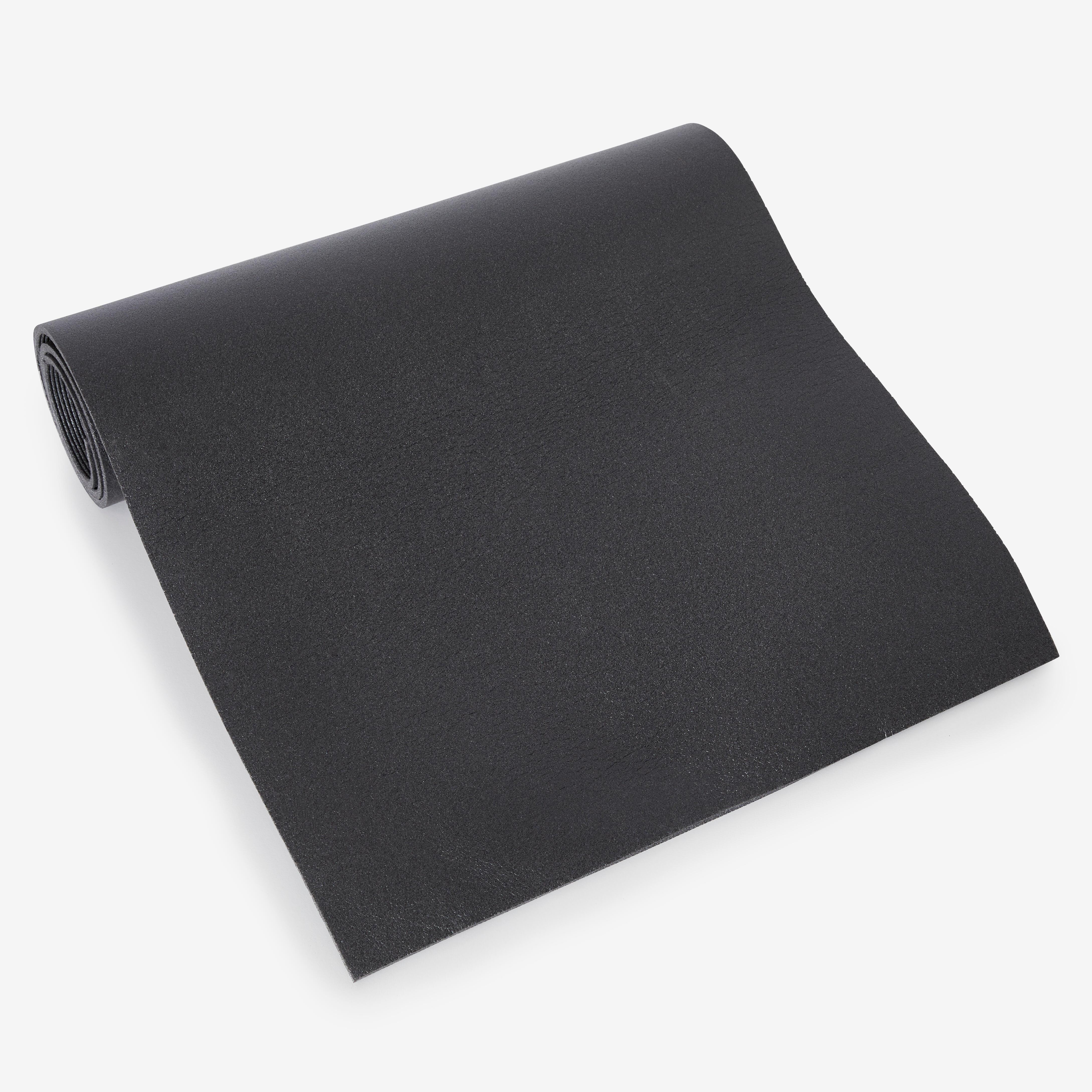Fitnessmatte 140cm×50cm×6,5mm schwarz
