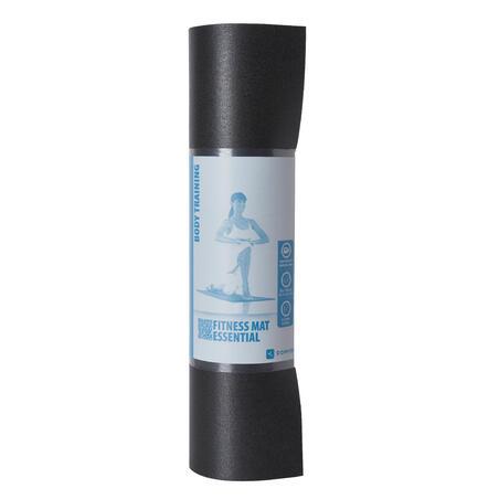 Colchoneta TAPETE mat pilates NEGRO 140 cm x 50 cm x 6,5 mm