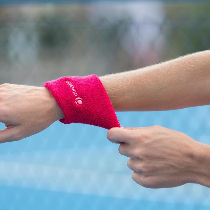 Schweißband Tennis Handgelenk rosa