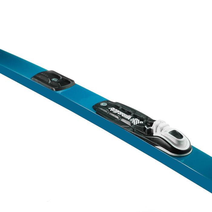 Ski de fond classique 150 à peaux + Fixation Rottefella basic auto