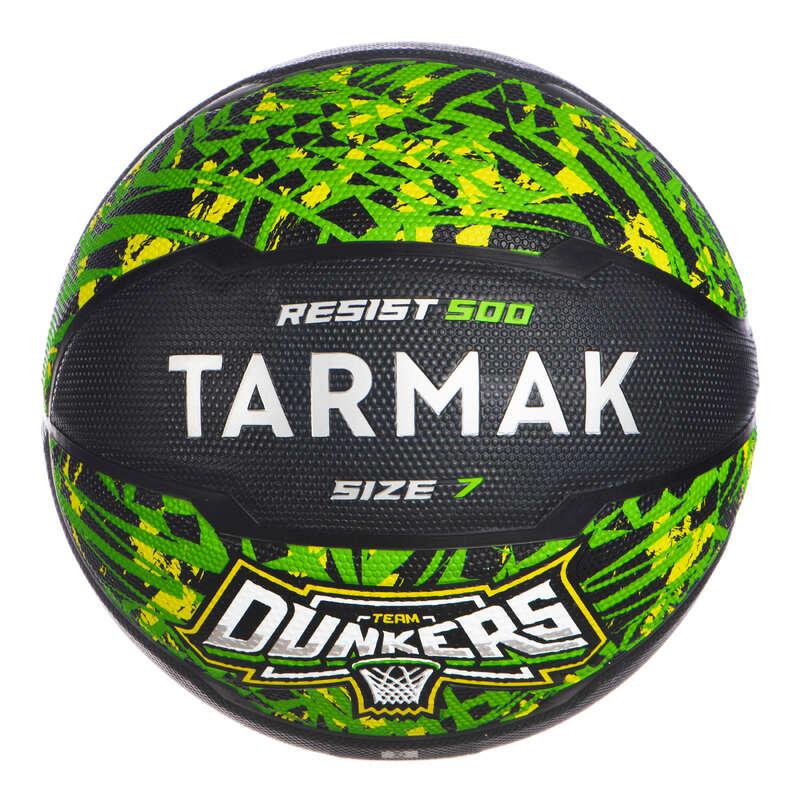 Hobbi labda Kosárlabda - Kosárlabda RESIST 500, 7-es  TARMAK - Kosárlabdák