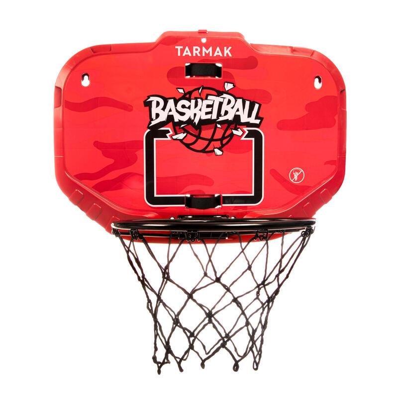 Tablero Baloncesto Tarmak K900 Transportable Negro Rojo Niños Adultos