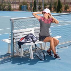 Artengo dames-T-shirt Soft Graph voor tennis, badminton, tafeltennis, padel grn - 198225