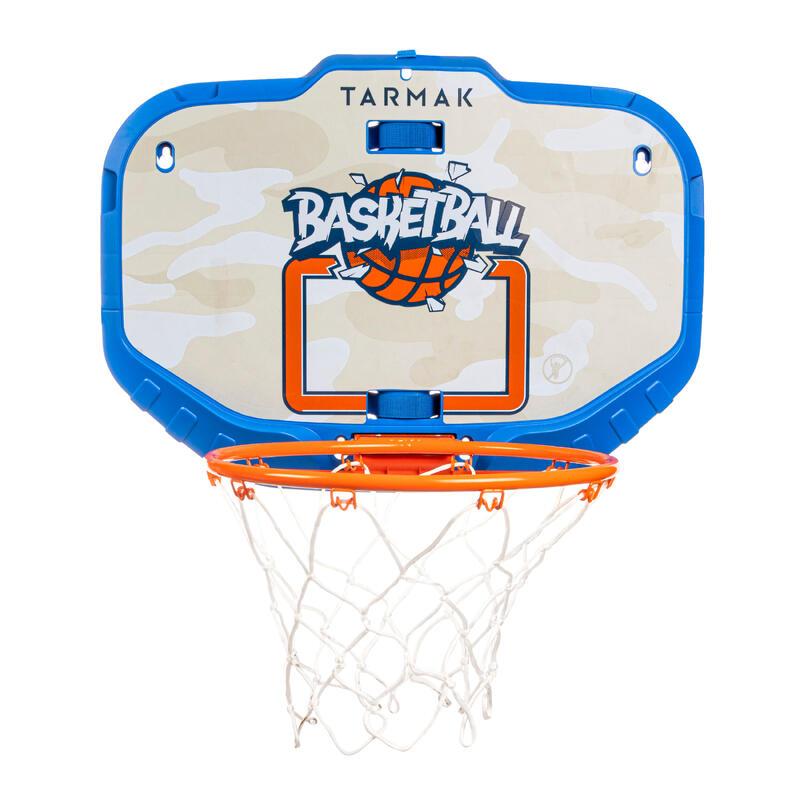 Tablero Baloncesto Tarmak K900 Transportable Azul Naranja Niños Adultos