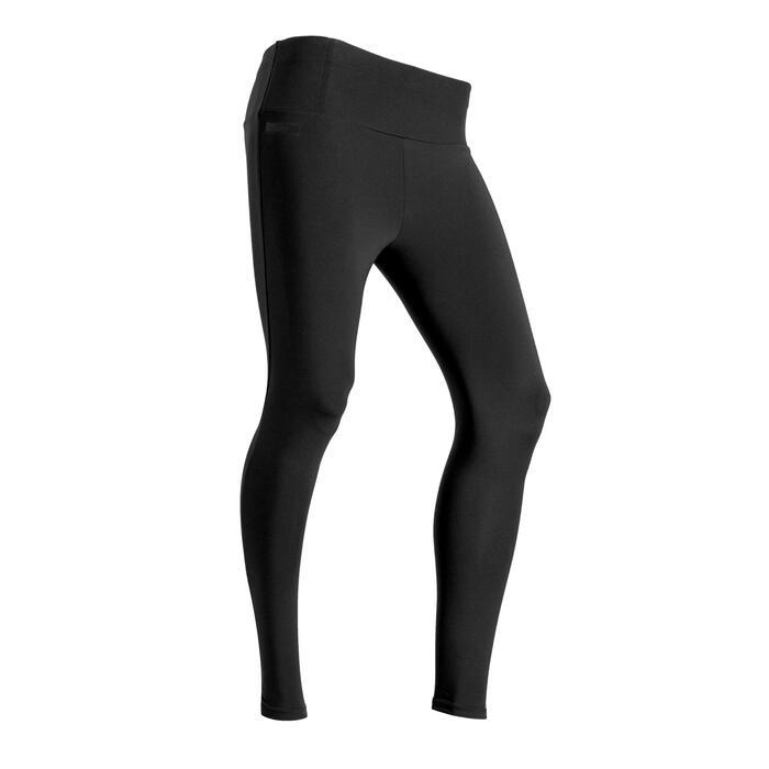 緊身褲RUN SUPPORT - 黑色