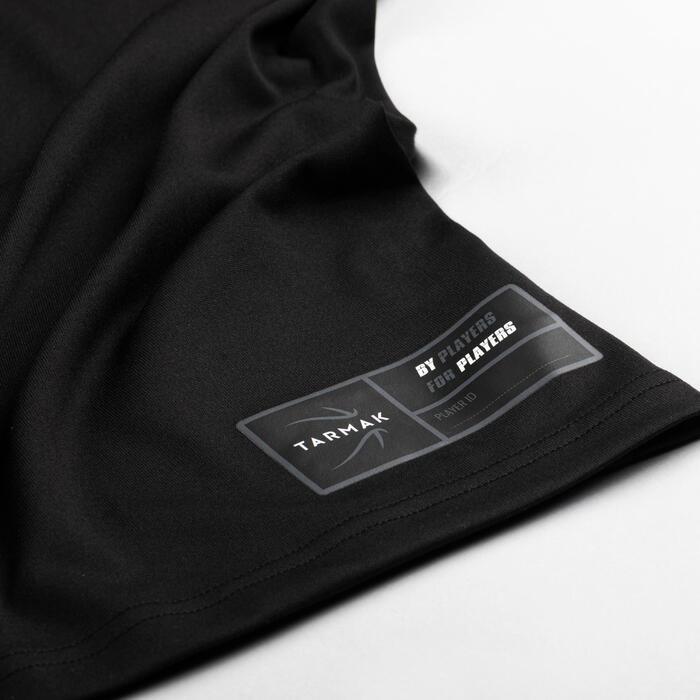 男款籃球T恤/運動衫Fast TS500-黑色Nothing But Net