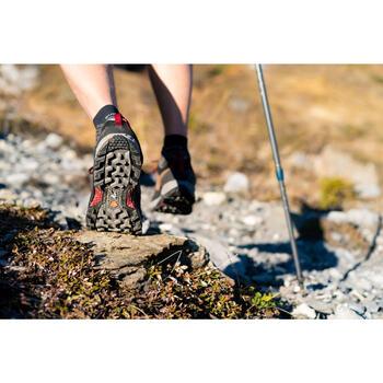 防水登山遠足鞋 - MH500 - 啡色 - 男裝