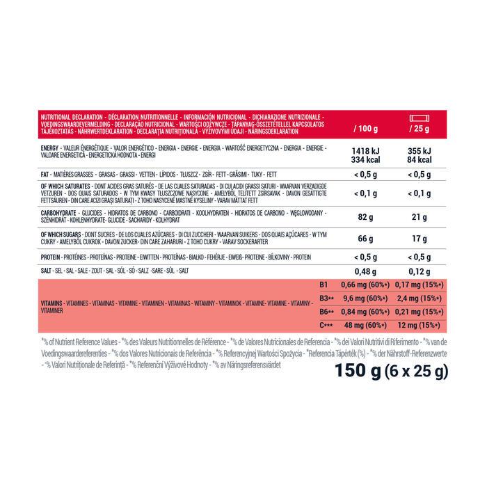 PASTA DE FRUTA ENERGÉTICA MORANGO ARANDOS ACEROLA 5x25 G + 1 GRÁTIS