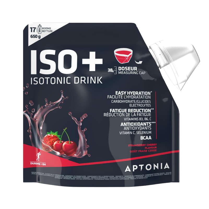 ХИДРАТАЦИЯ И ПРЕДТРЕНИРОВЪЧНИ ПРОДУКТИ Спортни добавки - НАПИТКА ISO+, 650 Г, ЯГОДА/ЧЕР APTONIA - Енергийни напитки