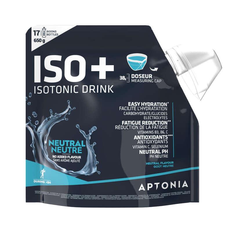 HIDRATAÇÃO& PRÉ ESFORÇO Hidratação e Alimentação - Bebida Pó ISO+ Neutro 650 g APTONIA - Esforço entre 1 a 3 horas