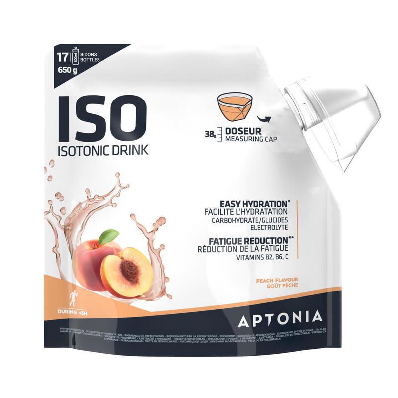 Poeder voor isotone sportdrank ISO perzik 650 g