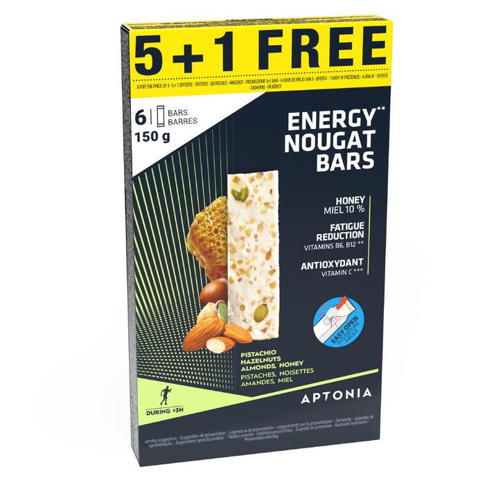 Nougat énergétique Promotion 5x25gr + 1 gratuit