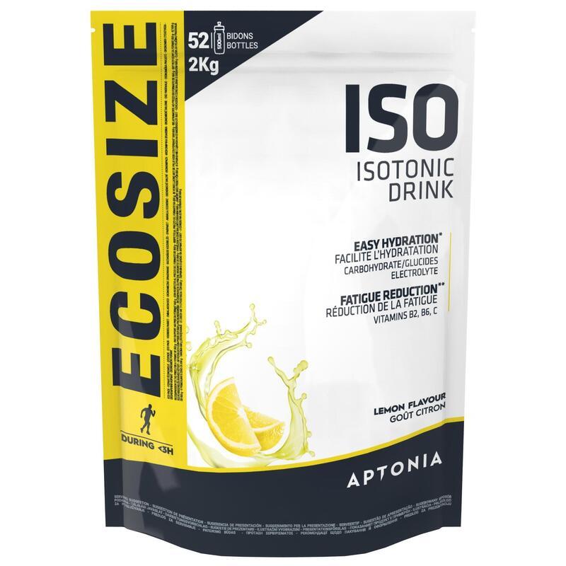 Poeder voor isotone sportdrank ISO citroen 2 kg