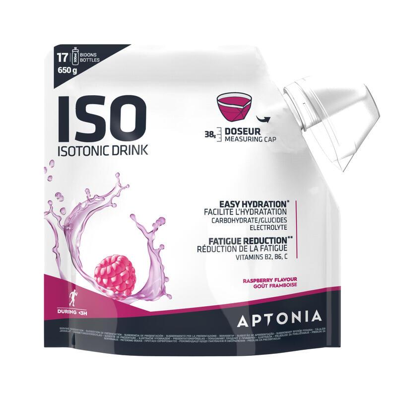 Poeder voor isotone sportdrank ISO rode vruchten 650 g