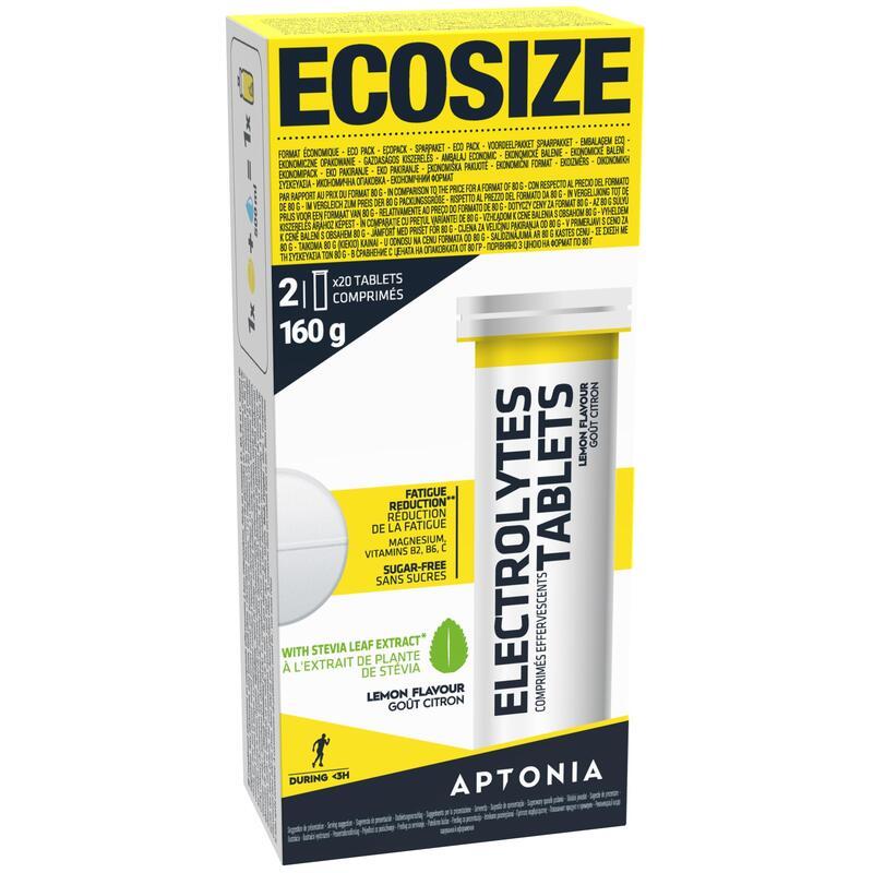 Boisson électrolytes 0 calorie tablettes citron 40 x 4g