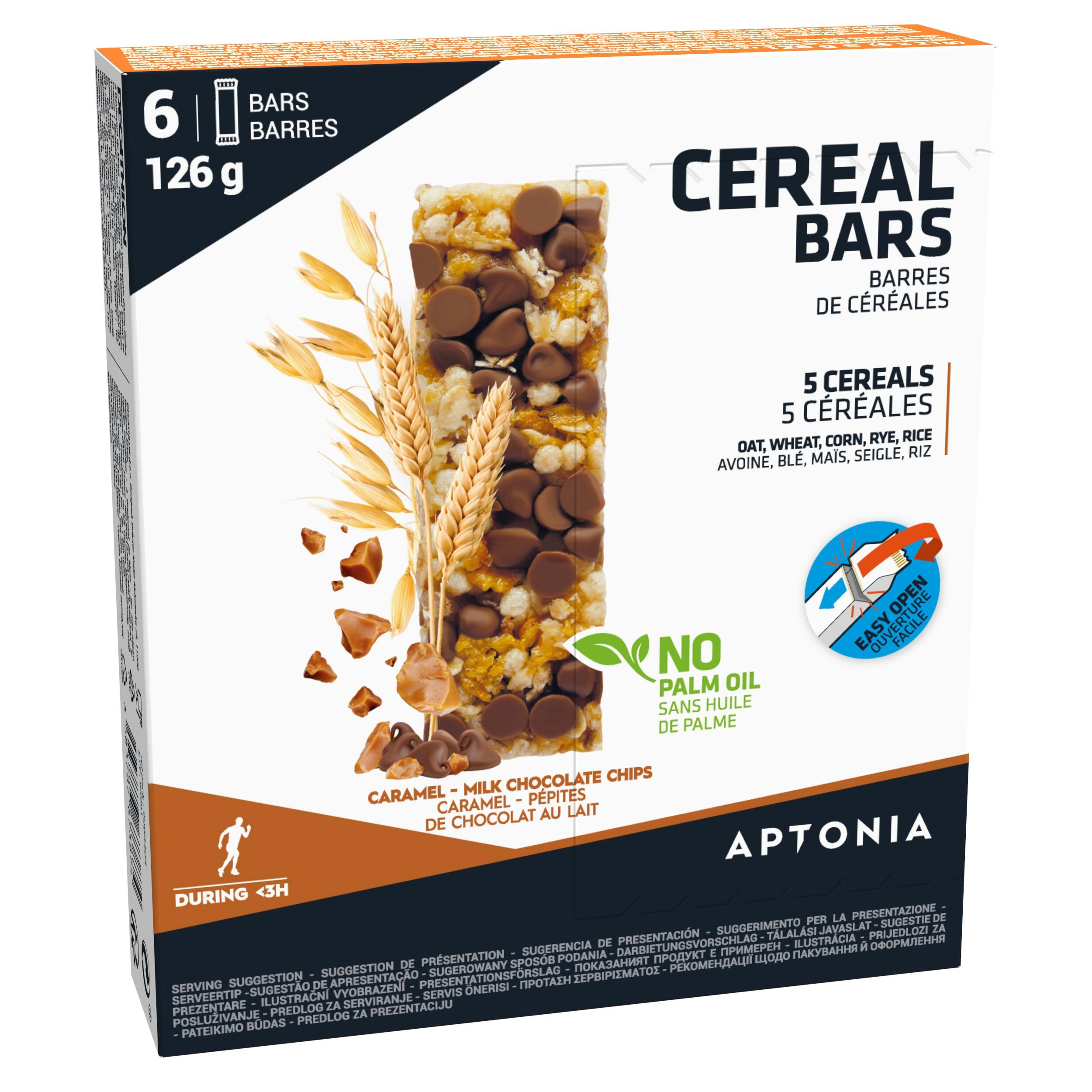 Baton Cereale Ciocolată 6x21g de la APTONIA