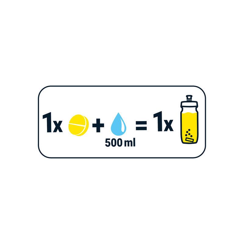 Boisson électrolytes 0 calorie tablettes citron 20 x 4g