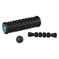 Massage Kit: massage roller/foam roller, ball, massage stick
