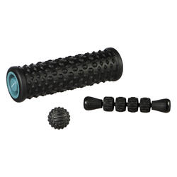 Massageset: massagerol / foam roller, bal, stick
